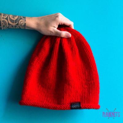 Красная шапка мешок для дред ручной работы Осень