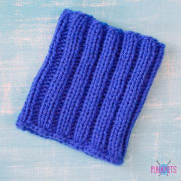 Синяя повязка на голову для дред Энтальпия