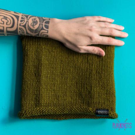 Болотная вязаная повязка для дред ручной работы Экзо